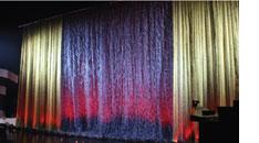 1109 multidimensional-effect confetti drape