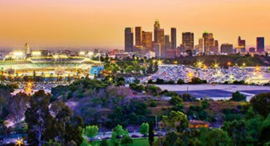 Dodger Stadium downtown Los Angeles