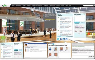 InXpo lounge screen