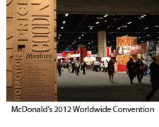 McDonald's 2012 Worldwide Convention