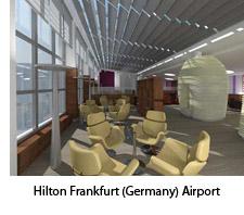 Hilton Frankfurt, hotel, airport