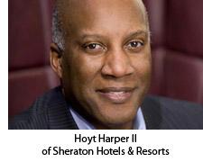 Hoyt Harper II of Sheraton Hotels