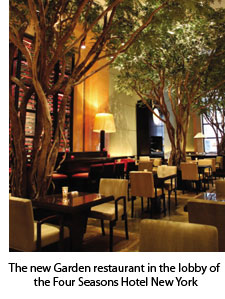 The Four Seasons New York's new Garden eatery