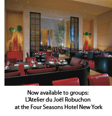 L'Atelier du Joel Robuchon at the Four Seasons Hotel New York