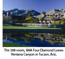Loews Ventana Canyon, hotel meetings events