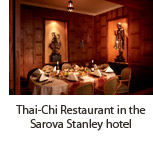 Thai-Chi Restaurant in the Sarova Stanley hotel