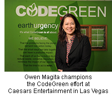 Gwen Magita, of Caesars Entertainment