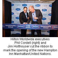 Hampton Inn Manhattan/United Nations opening
