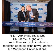 Hampton Inn Manhattan/United Nations opening