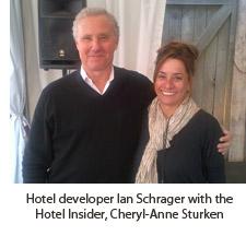 Ian Schrager and Cheryl-Anne Sturken
