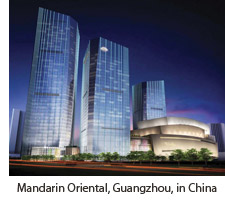 Mandarin Oriental, Guangzhou, in China