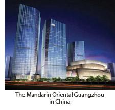 The Mandarin Oriental Guangzhou in China