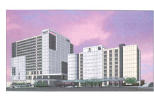 Rendering of proposed Portland Hyatts