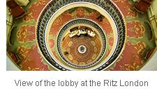 Lobby of the Ritz London