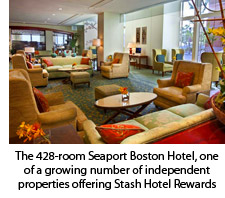 Seaport Boston Lobby