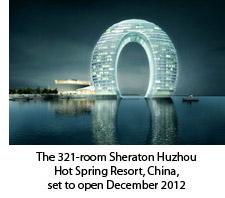 The 321-room Sheraton Huzhou Hot Spring Resort, China