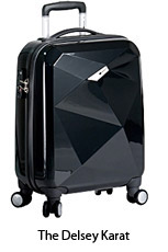Delsey karat suitcase, meetings, events, gifts