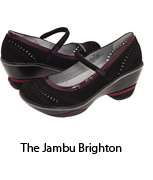 Jambu Brighton shoes, meetings, events, travel, gifts