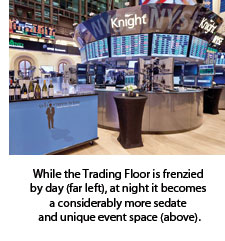 Trading Floor by night