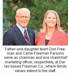 Don Freeman and Carrie Freeman Parsons