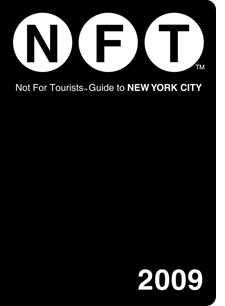 Not For Tourists guide book