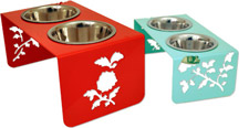 steel pet feeders