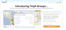 TripIt home page
