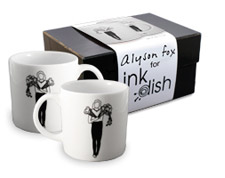 Inkdish mugs