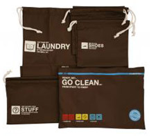 Laundry travel bags