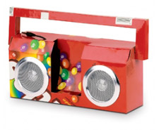 Candy boombox