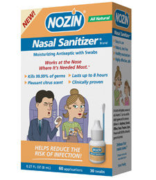 Nozin nose sanitizers