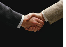 Handshake, meeting, event, trade show, convention