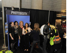 Photo booth at BizBash, meeting, event, convention