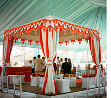 Tent, meeting, event, convention