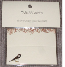 Tablescapes Place Cards
