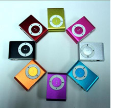 iPod nanos of several colors