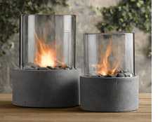 Restoration Hardware's fire columns