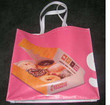 Tote made from recycled meetings materials