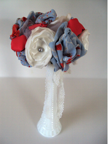 Fabric centerpiece