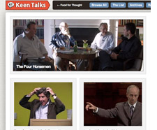 Keen Talks screen shot