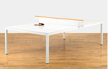 Poppin ping-pong table