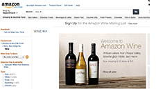 Amazon wine screen shot