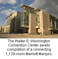 Walter E. Washington Convention Center inside