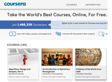Coursera screen shot