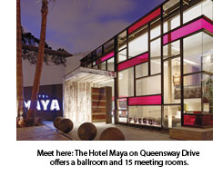 The Hotel Maya on Queensway Drive