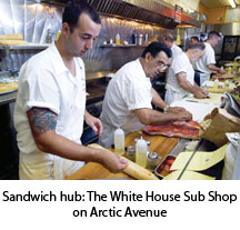 The White House Sub Shop