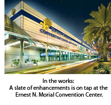 The Ernest N. Morial Convention Center