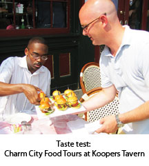 Food Tours at Koopers Tavern