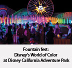 Disney's World of Color at Disney California Adventure Park