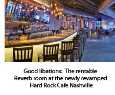 Reverb at Hard Rock Cafe Nashville